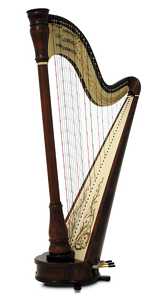 Photo : Harpe Camac 47 cordes