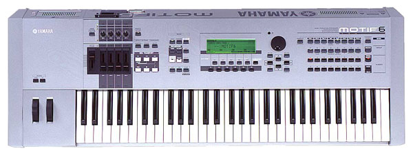 Photo annonce Clavier Motif 6 Yamaha