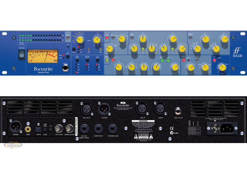 Photo annonce FOCUSRITE ISA 220 SESSION PACK