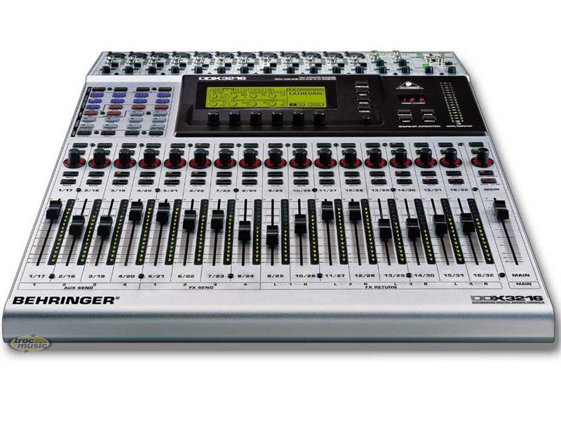 Table De Mixage Behringer Ddx 3216 Petite Annonce Trocmusic