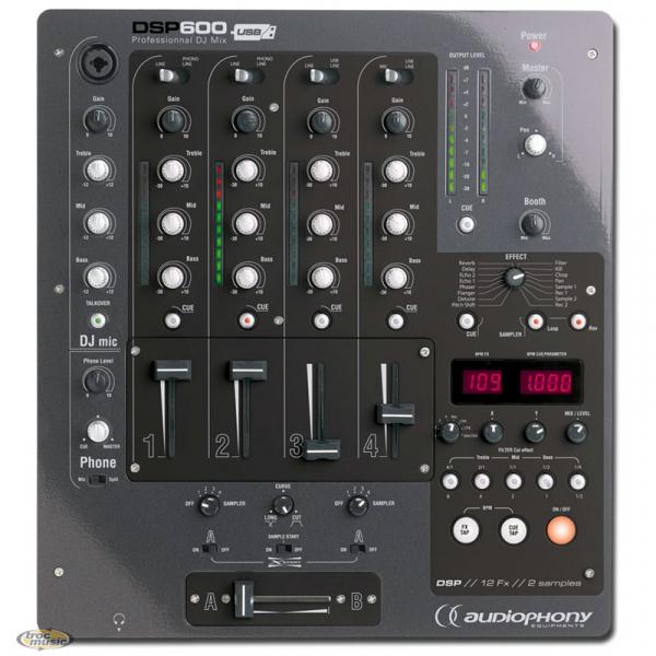 Table De Mixage Audiophony Dsp 600 Petite Annonce Trocmusic