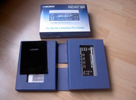 Photo annonce Enregistreur Boss Micro BR