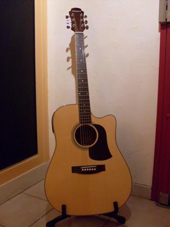 guitare acoustique aria