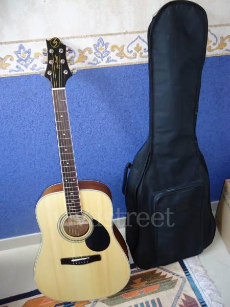 greg bennett guitare folk housse petite annonce trocmusic. Black Bedroom Furniture Sets. Home Design Ideas