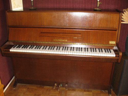 piano droit etude marque weinbach petite annonce trocmusic. Black Bedroom Furniture Sets. Home Design Ideas