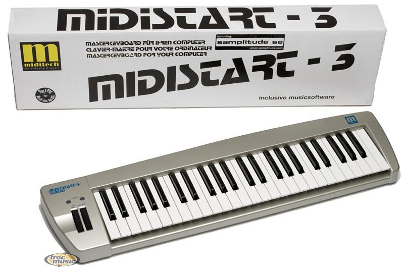 Photo annonce Clavier Maitre midi USB Miditech Midistart