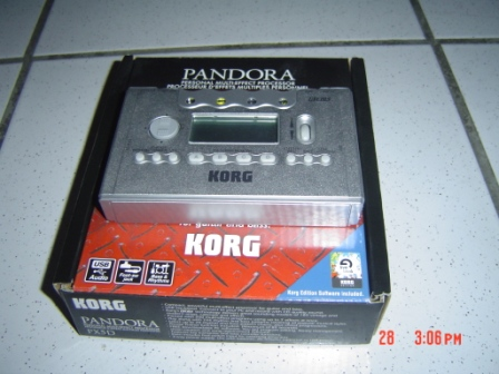 Photo annonce KORG    Pandora   Px5D avec emballage