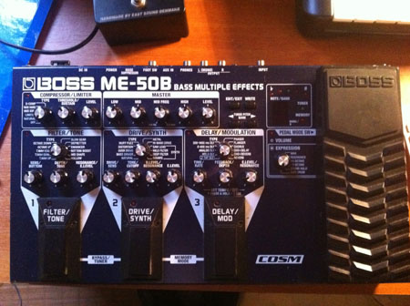 Photo annonce Multi Effets Boss ME  50B Bass