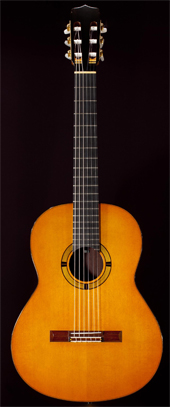 Photo : Guitare  luthier  Stephan Schlemper