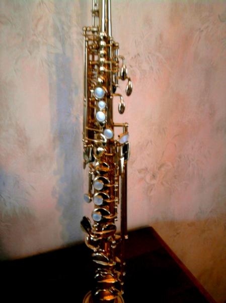 Photo : Saxophone Soprano Selmer Mark VI  1974