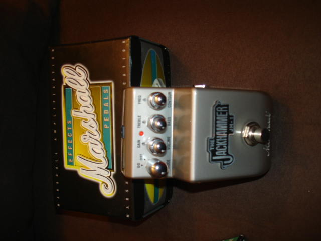 Photo : Marshall Jackhammer distorsion pedale