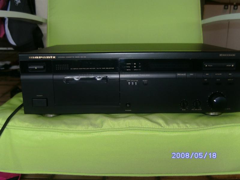 Photo annonce Lecteur cassettes Marantz SD40 a hx pro