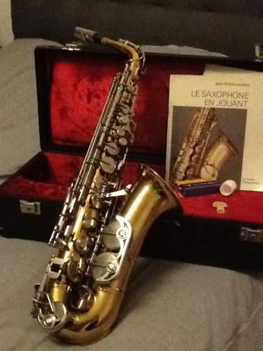 Photo Saxophone alto Weltklang solist » Instruments de