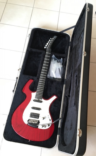 Photo annonce PARKER       GUITARE NITEFLY SA made USA