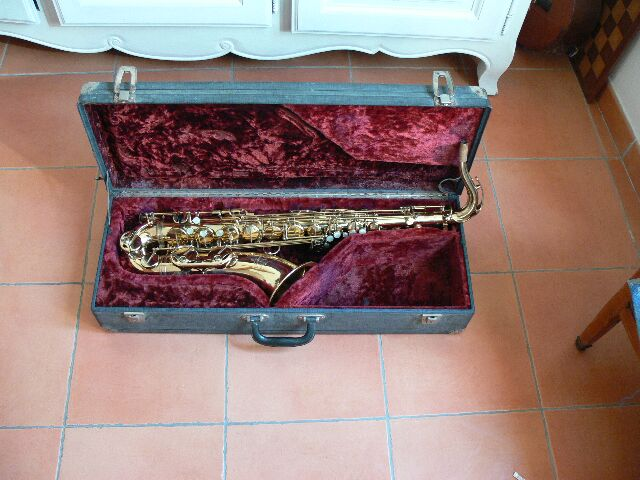 Photo annonce Selmer    mark   6 saxophone tenor de 1972