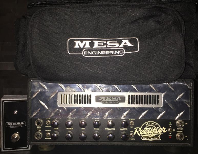Photo annonce Mesa  Boogie   Mini Rectifier Twenty Five Head