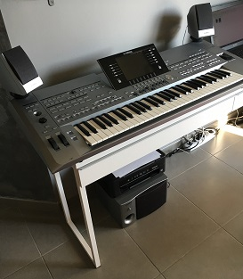 Photo annonce Yamaha   Tyros   5 61 touches avec Stand
