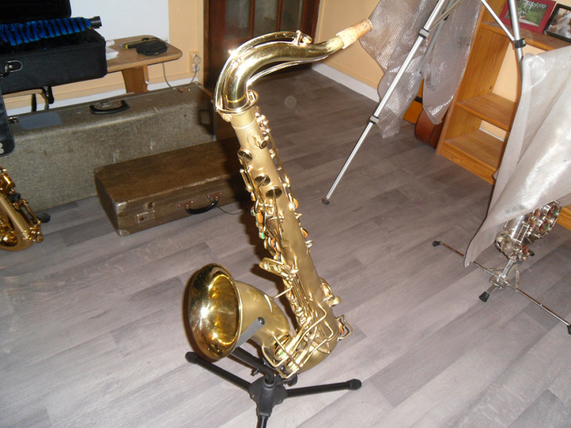 Photo annonce Conn    tenor    10M naked lady Saxophone
