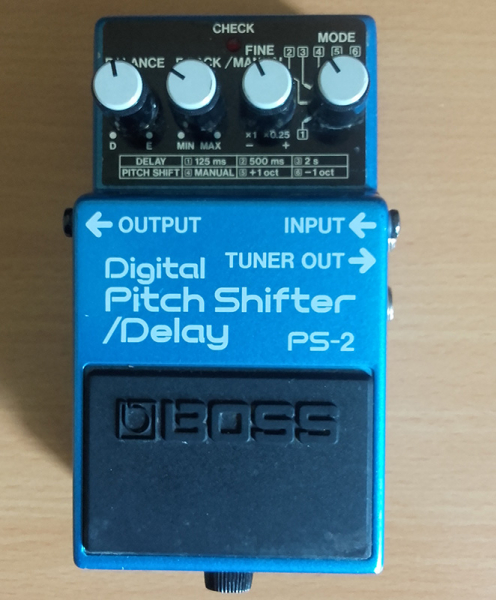 Photo annonce BOSS      PS     2 Pitch Shifter Delay