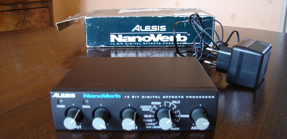 Photo annonce Alesis  Nanoverb 16 effets