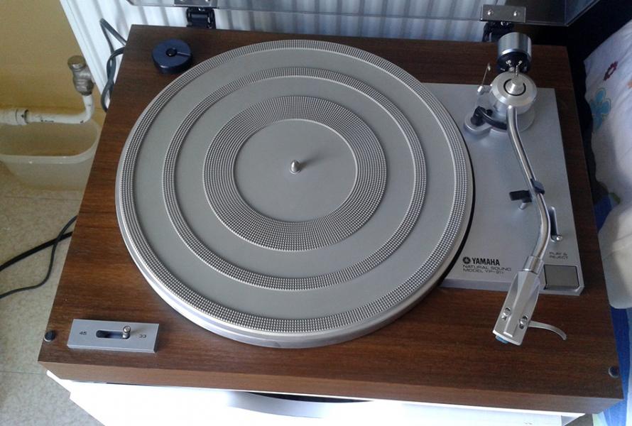 Photo annonce Platine   vinyl  Yamaha YP 211 1978