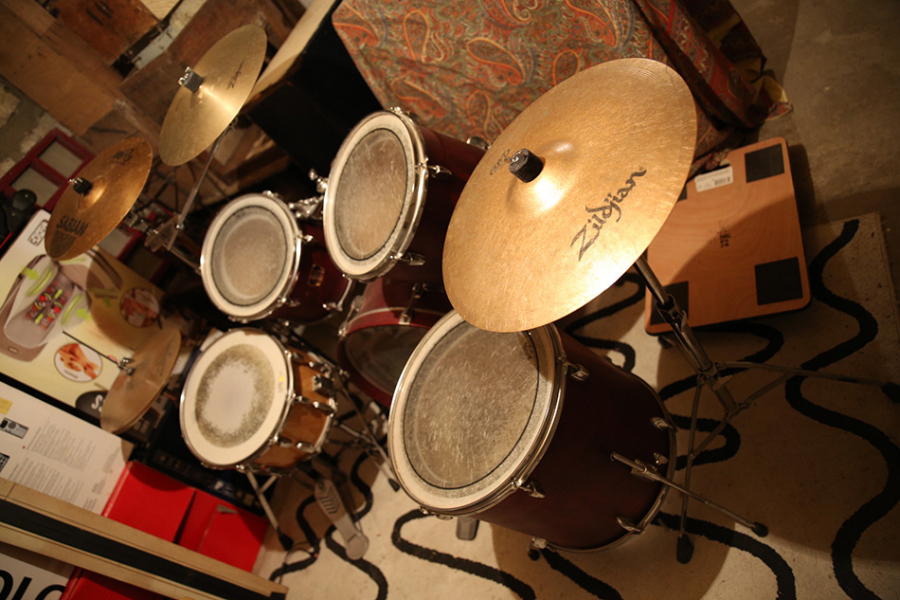 Photo annonce Yamaha stage custom cymbales et double pedale