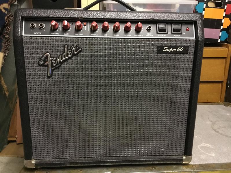 Photo annonce Fender   Super   60 Amplificateur