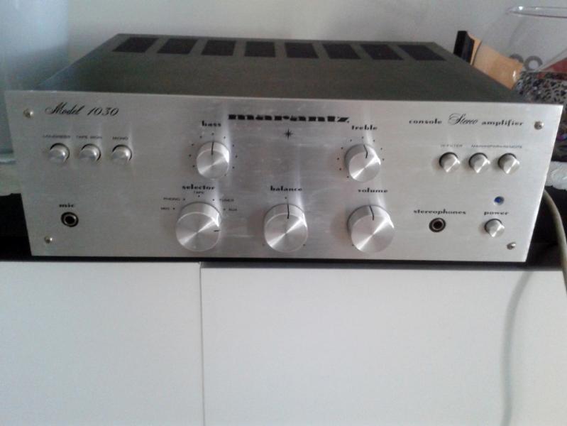 Photo annonce Ampli  Marantz   model 1030