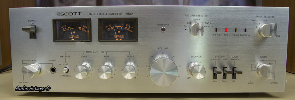Photo annonce SCOTT            Integrated Amplifier 460A