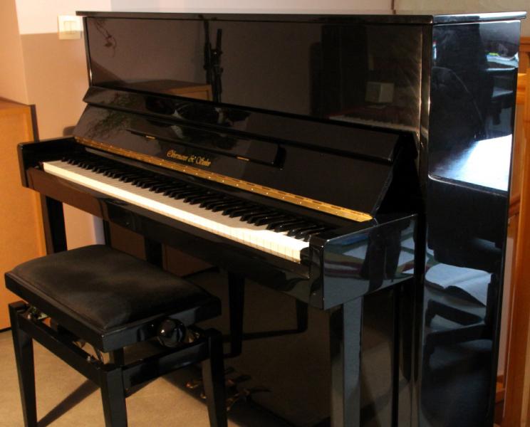 Photo annonce Piano   Droit    OBERMANN and Sohn 118 Noir