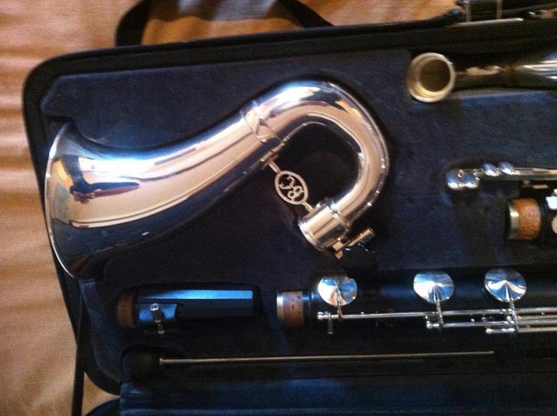 Photo : Buffet Crampon 1183 green Clarinette basse