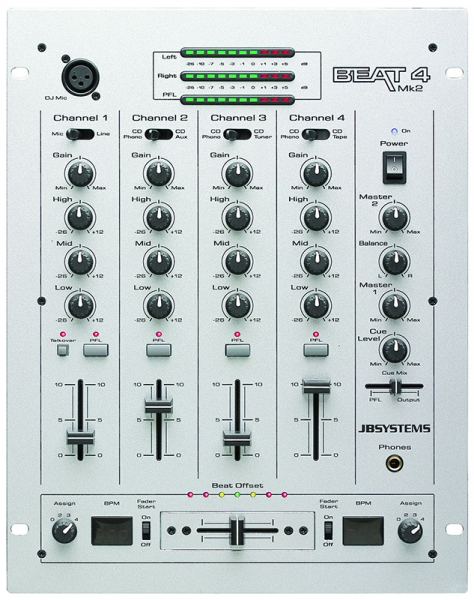 Photo annonce JB     Systems   Beat 4 MK2 mixer
