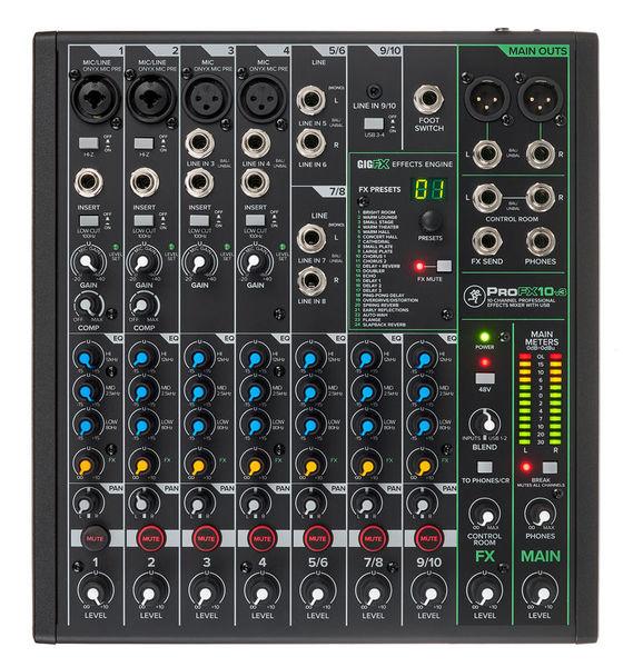 Photo annonce MACKIE           Pro FX10V3 Table de Mixage