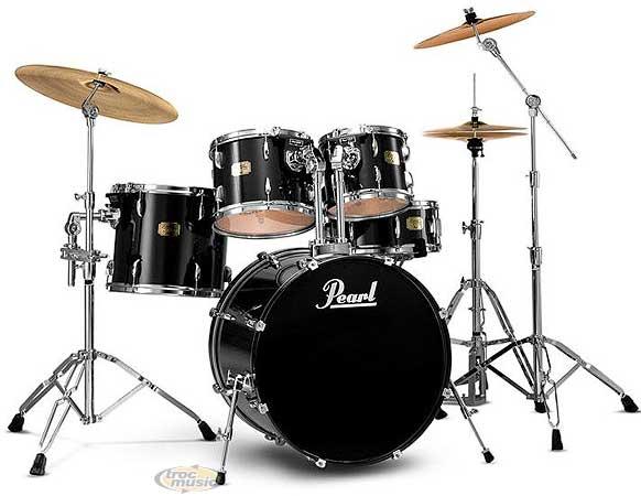 photo batterie pearl export instruments de musique. Black Bedroom Furniture Sets. Home Design Ideas