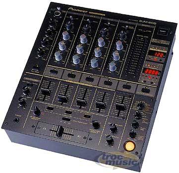 Table Mixage Pioneer Djm600 Petite Annonce Trocmusic