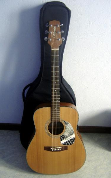 Guitare folk takamine gs240 sa housse petite annonce for Housse guitare folk