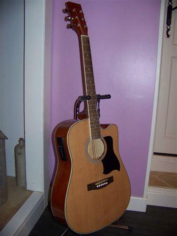 guitare folk electro acoustique westwood petite annonce. Black Bedroom Furniture Sets. Home Design Ideas