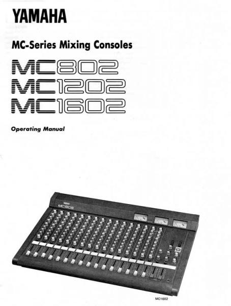 Photo annonce Yamaha MC 1202