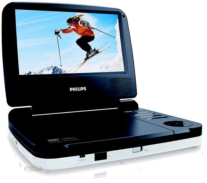 lecteur dvd portable philips pet716 petite annonce trocmusic. Black Bedroom Furniture Sets. Home Design Ideas