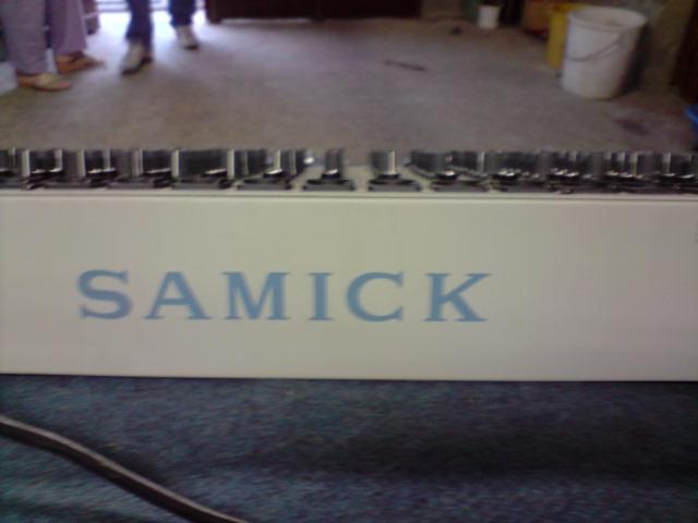 Table De Mixage Samick Petite Annonce Trocmusic