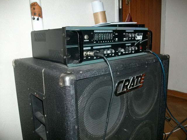 Photo annonce Ampli CRATE BT 350 & CAB 4X10