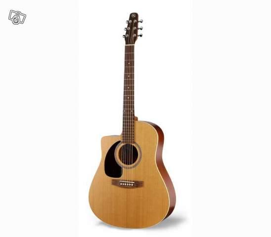guitare folk seagull s6 gaucher petite annonce trocmusic. Black Bedroom Furniture Sets. Home Design Ideas