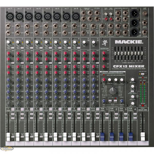 Table Mixage Mackie Cfx12 Petite Annonce Trocmusic