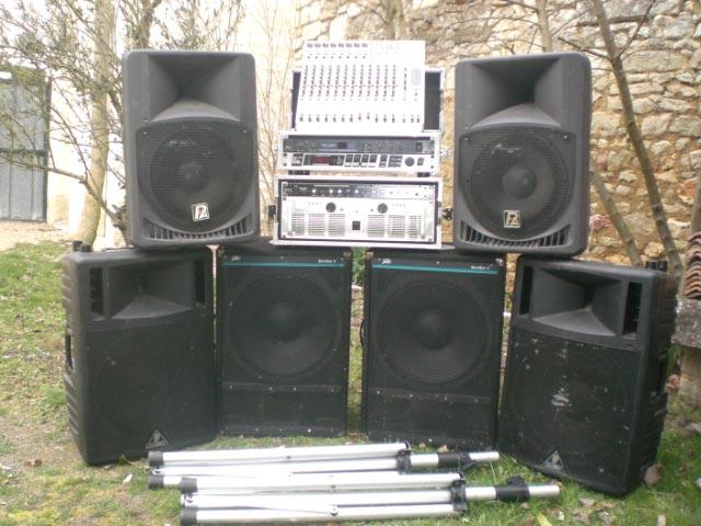 Photo annonce PACK SONO Enceintes & Caisson basse + Ampli