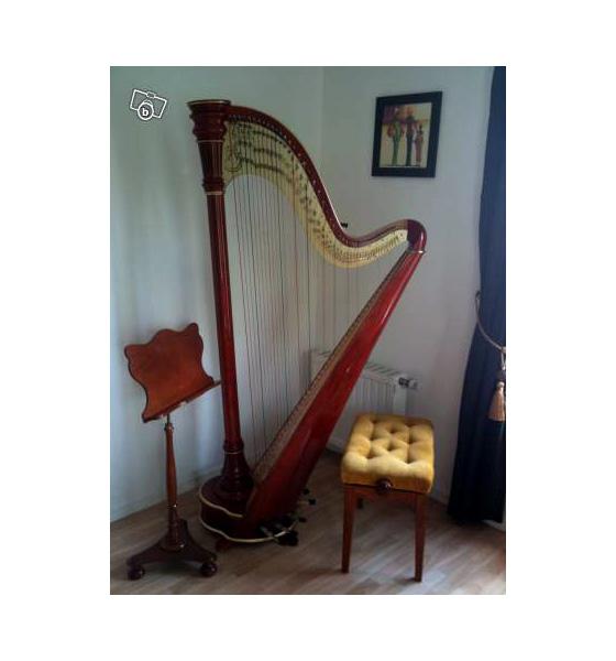 harpe camac modele athena petite annonce trocmusic. Black Bedroom Furniture Sets. Home Design Ideas