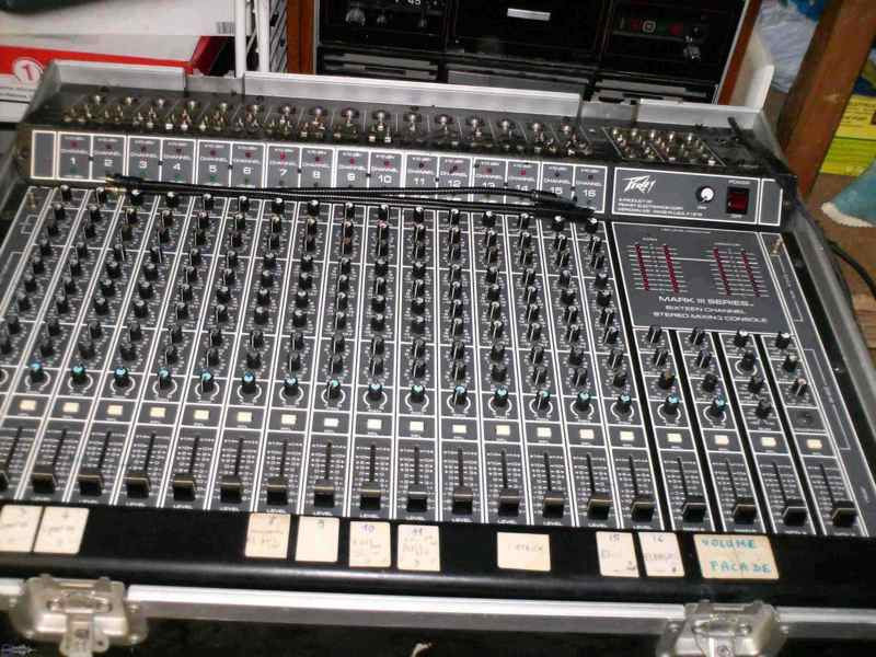 Table De Mixage Analogique Peavey Mark 3 Petite Annonce Trocmusic