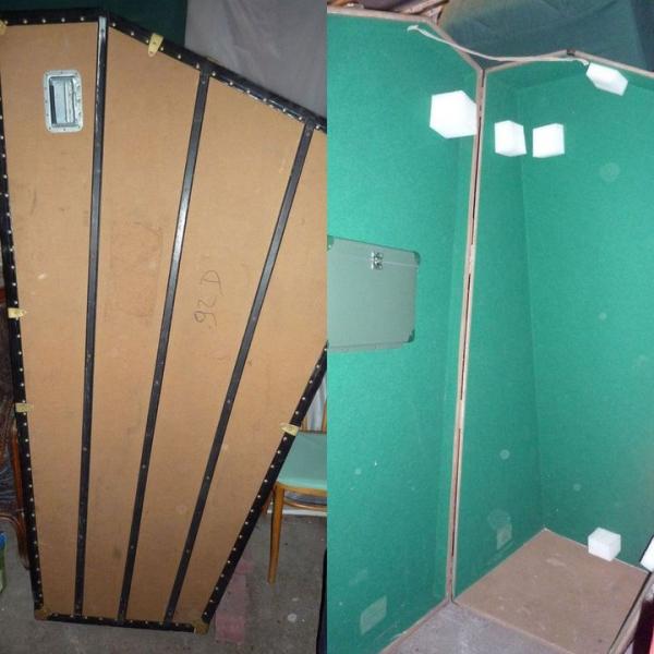 harpe caisse de transport pour grande harpe petite. Black Bedroom Furniture Sets. Home Design Ideas
