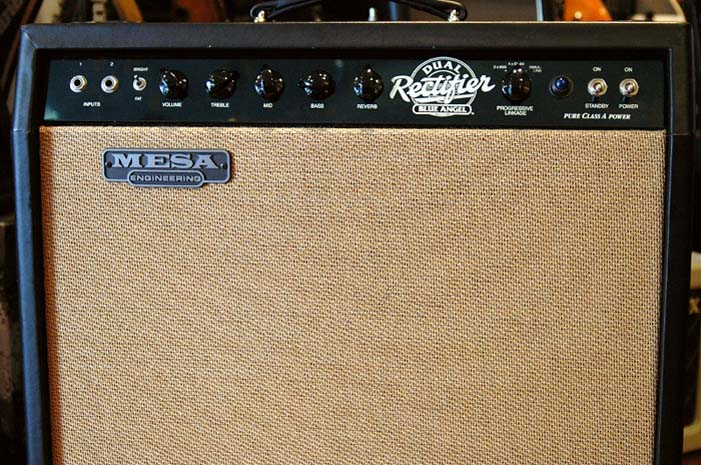 Mesa boogie dual rectifier blue angel petite annonce for Mesa boogie blue angel