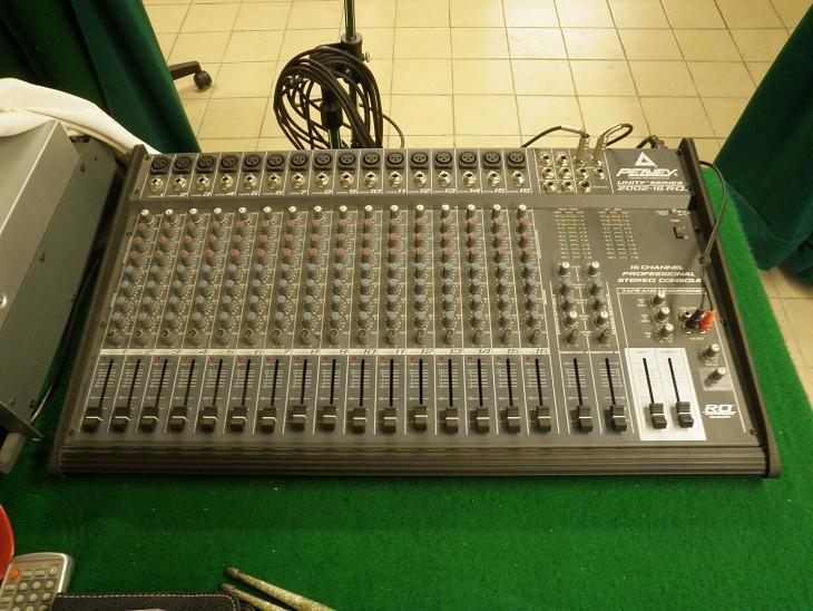 Table De Mixage Peavey Facture Petite Annonce Trocmusic