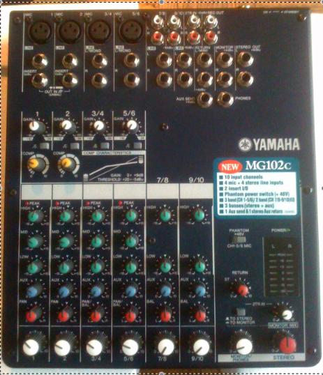 Table De Mixage Yamaha Mg102c Petite Annonce Trocmusic